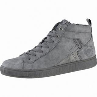 Dockers modische Damen Synthetik Winter Sneakers grau, Warmfutter, Plateaulaufsohle, 1639280