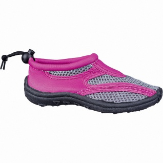 Beck Aqua Mädchen Textil Wasserschuhe, Badeschuhe pink, schnelltrocknendes Te...