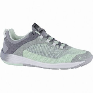 Jack Wolfskin Portland Chill Low W Damen Mesh Outdoor Schuhe mint, atmungsaktiv mit Texacool, 4440153/5.5