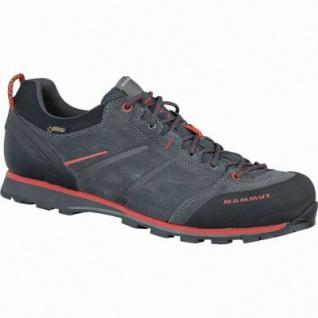 Mammut Wall Guide Low GTX Men Herren Leder Goretex Outdoor Schuhe graphite, Gripex Approach-Laufsohle, 4437144