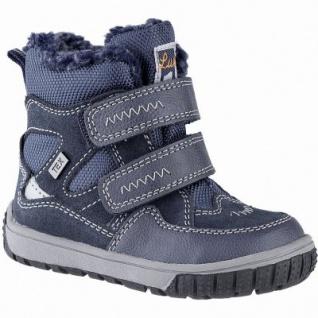 Lurchi Jaufen Jungen Winter Leder Tex Boots navy, 8 cm Schaft, molliges Warmfutter, warmes Fußbett, 3241115
