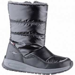 Kangaroos K-Confi RTX Mädchen Winter Synthetik Tex Boots black, 18 cm Schaft, leichtes Futter, herausnehmbare Sohle, 3741250/34