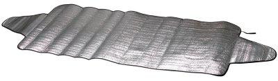Auto PKW Eisfolie, Sonnenschutz Folie Gr. L 230x110 cm, EPE Beschichtung, Thermo Scheibenabdeckung, Frontscheiben Abdeckung