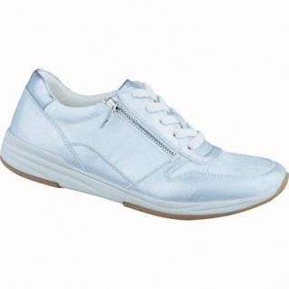 Jenny Granville stylische Damen Sneaker silber kiesel argento, Synthetik, Jenny Fußbett, Extra Weite H, 1336136/43