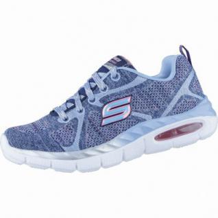 Skechers Breezy Bliss coole Mädchen Soft Knit Sneakers navy, Skechers Laufsohle, 4238171/31