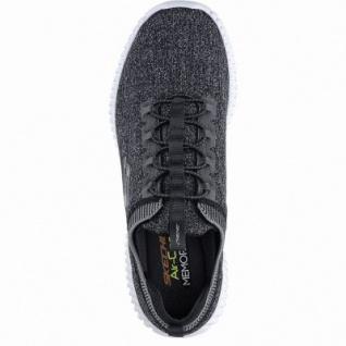 Skechers Elite Flex hartnell coole Herren Strick Sneakers black, Skechers Air Cooled Memory Foam-Fußbett, 4240167/43 - Vorschau 2