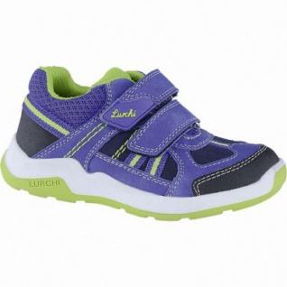 Lurchi Marcus sportliche Jungen Leder Sneakers cobalt, mittlere Weite, Lurchi Fußbett, 3340117/31