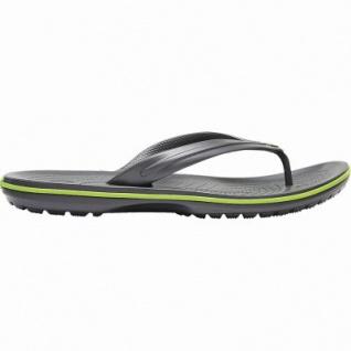 Crocs Crocband Flip Damen, Herren Flip Flops graphite, weiche Laufsohle, schnell trocknend, 4340112/45-46