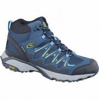 Brütting Expedition Mid Damen Comfortex Trekking Schuhe marine, Textilfutter, rutschfeste Vibram-Laufsohle, 4437119/43
