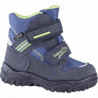 Superfit Jungen Winter Synthetik Tex Boots blau, mittlere Weite, molliges Warmfutter, warmes Fußbett, 3241108/26