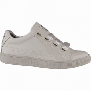 Dockers modische Damen Lack Synthetik Sneakers rosa, weiches Fußbett, Textilfutter, 1240205/38