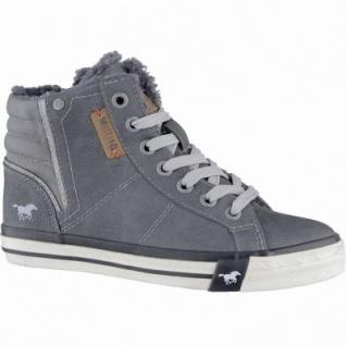 Mustang coole Jungen Synthetik Winter Sneakers graphit, Warmfutter, warme Decksohle, 3739108/36 - Vorschau 1