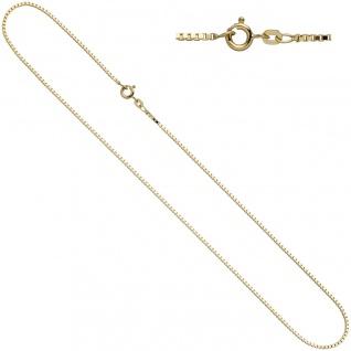 Venezianerkette 333 Gelbgold 1, 0 mm 42 cm Gold Kette Halskette Goldkette - Vorschau 2