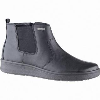 Jomos Damen Leder Winter Tex Boots schwarz, Extra Weite H, 9 cm Schaft, molliges Warmfutter, warmes Fußbett, 1741168