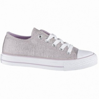 Canadians coole Mädchen Glamour Synthetik Sneakers Low pink, weiches Fußbett, 3340140