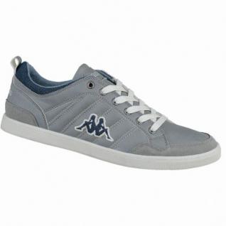 Kappa Rooster modische Herren Synthetik Sneakers grey offwhite, Sneaker Laufsohle, 2138209/44