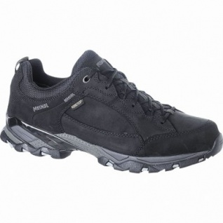 Meindl Toledo GTX Damen, Herren Leder Trekking Schuhe schwarz, Goretex Ausstattung, 4423113/10.0