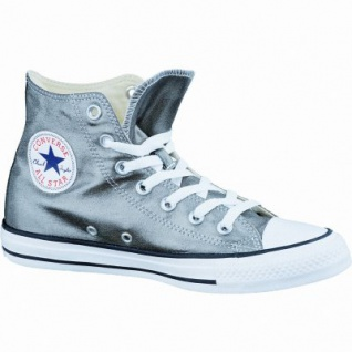 Converse CTAS Canvas Metallic coole Damen Canvas Metallic Sneaker metallic herbal-white-black, Textilfutter, 1237128/37.5