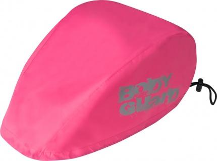 SAFETY MAKER Fahrradhelm Regenschutz pink wasserdicht, reflektierend, erhöht ...