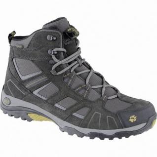 Jack Wolfskin Vojo Hike Mid Texapore Men Herren Leder Mesh Outdoor Stiefel burly yellow, Texapore Ausstattung, 4440157/8.0