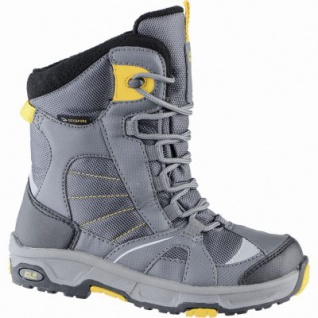 Jack Wolfskin Boys Snow Ride Texapore Jungen Mesh Snowboots burly yellow, molliges Warmutter, 4539118/38
