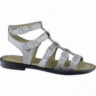 Ricosta Anke modische Mädchen Synthetik Sandalen taupe, mittlere Weite, Ricosta Fußbett, 3540168