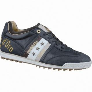 Pantofola d Oro Imola Adesione Uomo Low Herren Leder Sneakers black, Lederfutter, Fußbett, 2137169/42