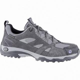 Jack Wolfskin Vojo Hike Texapore Women Damen Leder Outdoor Schuhe sky, griffige Trekking-Sohle, 4440151/6.0
