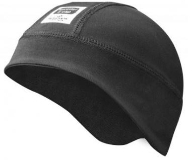 warme Mikrofleece Mütze, Skimütze, Skihelm Untermütze, Gr. S-M schwarz, atmungsaktiv, für Winter Outdoor