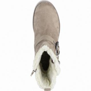 s.Oliver sportliche Damen Synthetik Winter Stiefel pepper, molliges Warmfutter, Soft-Foam-Fußbett, 1639337/38 - Vorschau 2
