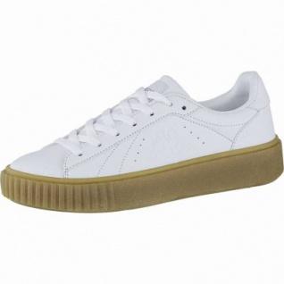 Kappa Meseta PF RB coole Damen Synthetik Sneakers white, angesagte Plateau Laufsohle, 4240114/37