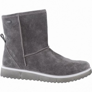 Legero Damen Leder Winter Boots stone, 14 cm Schaft, Warmfutter, warmes Fußbett, Gore Tex, Comfort Weite G, 1741137/4.0