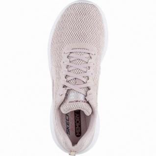 Skechers Ultra Flex coole Damen Mesh Sneakers light pink, Skechers Air-Cooled-Memory-Foam-Fußbett, 4142110/36 - Vorschau 2