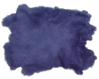 Kaninchenfelle lavendel gefärbt, ca. 30x30 cm, Felle vom Kaninchen mit seidig...