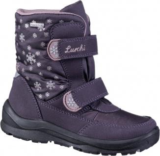 LURCHI Kelly Mädchen Winter Synthetik Boots aubergine, breitere Passform, War...