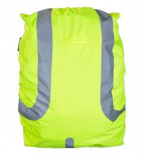 Safety Maker Rucksack Regenschutz reflektierend gelb wasserbeständig 45 Liter...