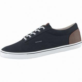 Jack&Jones JJ Vision Herren Canvas Sneakers anthracite, 2138211/40