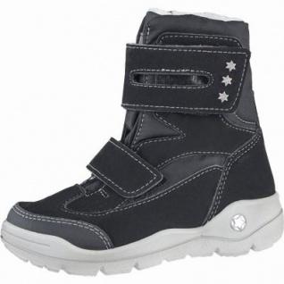 Ricosta Silke Mädchen Winter Thermo Tex Boots schwarz, Warmfutter, warmes Fußbett, 3739190/34