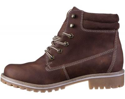 JANE KLAIN Damen Synthetik Boots brown, Fleecefutter, weiche Super Soft Decks... - Vorschau 3