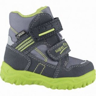 Superfit Jungen Winter Synthetik Tex Boots charcoal, Warmfutter, warmes Fußbett, 3239106/22