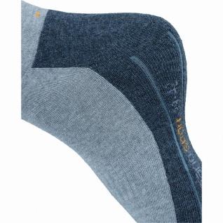 Camano 2er Pack Damen, Herren Sport Socken grau, Bund ohne Gummidruck