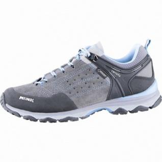 Meindl Ontario Lady GTX Damen Leder Trekking Schuhe grau, Air-Active-Fußbett, 4439119/7.0
