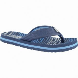 Reef Ahi coole Jungen Synthetik Pantoletten blue, weiche Decksohle, 3538114