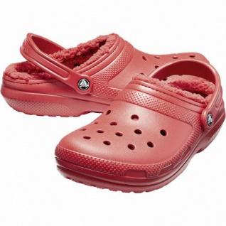 Crocs Classic Lined Clog warme Damen Winter Clogs pepper, Warmfutter, flexible Laufsohle, 4341105/36-37 - Vorschau 2