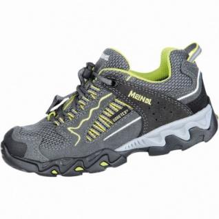 Meindl SX 1 Junior GTX Mädchen, Jungen Leder Mesh Trekking Schuhe anthrazit, Goretex Ausstattung, 4430143/31 - Vorschau 2