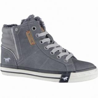 Mustang coole Jungen Synthetik Winter Sneakers graphit, Warmfutter, warme Decksohle, 3739108