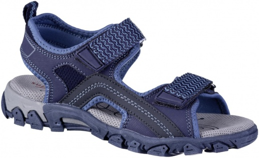 SUPERFIT Jungen Synthetik Sandalen blau, mittlere Weite, softe Superfit Decks...