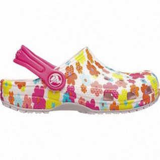 Crocs Classic Seasonal Graphic Clog Kids Mädchen Crocs barley pink, verstellbarer Fersenriemen, 4342117/20-21