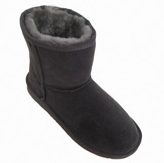 Heitmann Felle Damen Lammfell Leder Winter Boots anthrazit, warme Laufsohle, ... - Vorschau 3