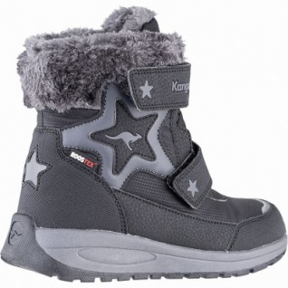 Kangaroos Star Shine RTX Mädchen Winter Synthetik Tex Boots black, leichtes Futter, herausnehmbare Decksohle, 3741251/40 - Vorschau 2